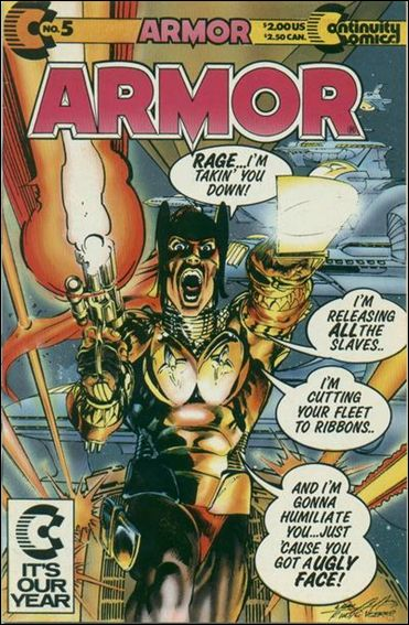 Armor (1985) 5-A by Continuity Comics
