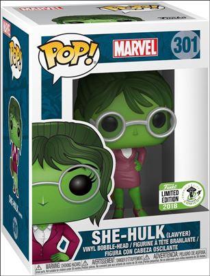 POP! Marvel She-Hulk (Lawyer) Emerald City Comicon 2018