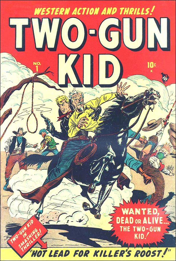 Two-Gun Kid 1-A by Marvel