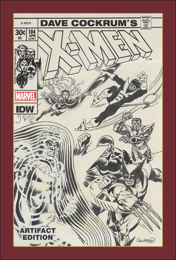 Dave Cockrum's X-Men Artifact Edition nn-A by IDW