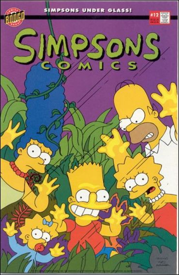 Simpsons Comics 12-A by Bongo