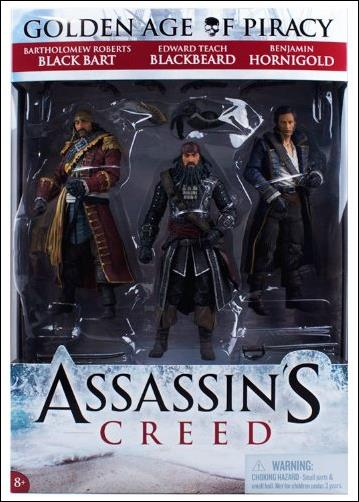 Assassin's Creed IV Black Flag  Assassin's Creed IV Black Flag 3-pack by McFarlane Toys