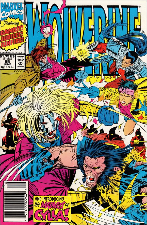 Wolverine (1988)  55-A by Marvel
