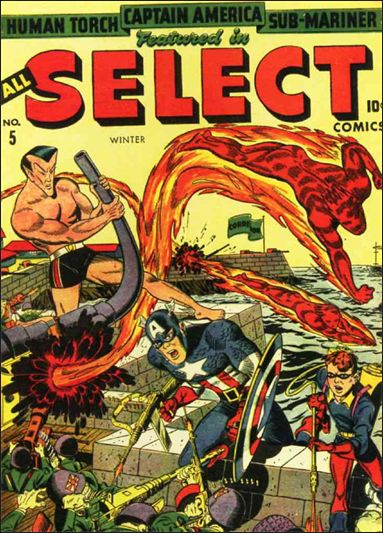 All-Select Comics 5-A by Marvel