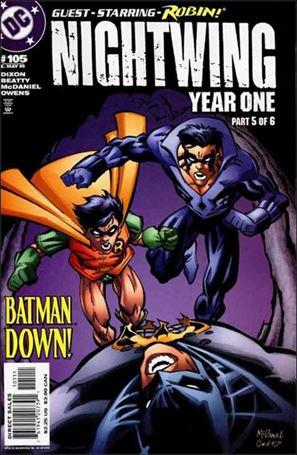 Nightwing (1996) 105-A