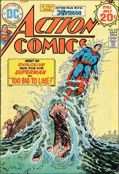Action Comics (1938) 439-A by DC