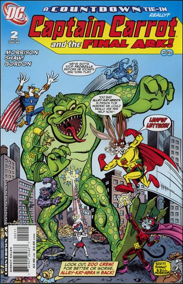 Captain Carrot and the Final Ark 2-A by DC