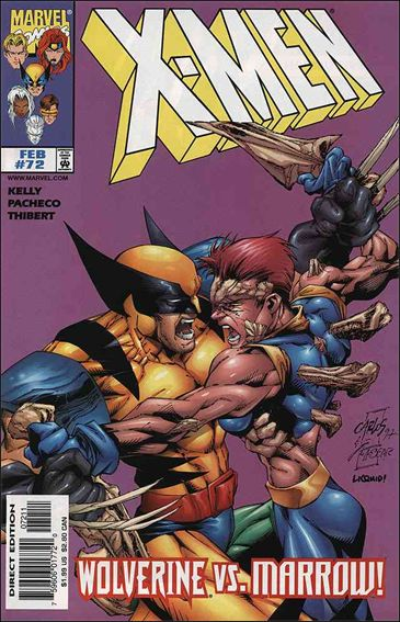 X-Men (1991) 72-A by Marvel