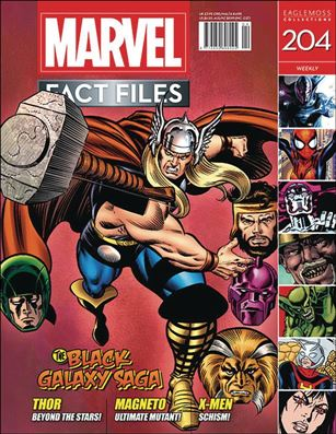 Marvel Fact Files 204-A