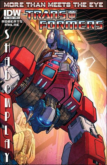 Transformers: More Than Meets the Eye (2012) 11-A by IDW