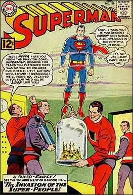 Superman (1939) 158-A by DC