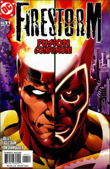 Firestorm (2004) 11-A by DC