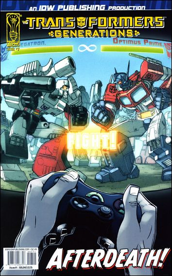 Transformers: Generations 7-A by IDW