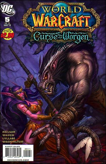 World of Warcraft: Curse of the Worgen 5-A by DC