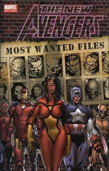 New Avengers: Most Wanted Files nn-A by Marvel