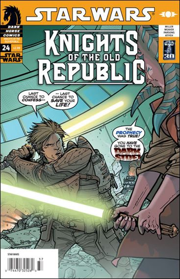 Star Wars: Knights of the Old Republic 24-A by Dark Horse