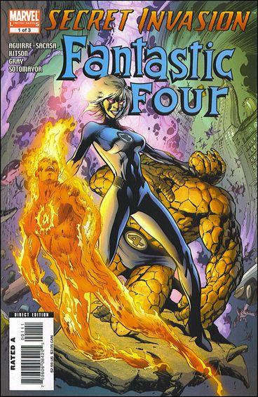 Secret Invasion: Fantastic Four 1-A by Marvel