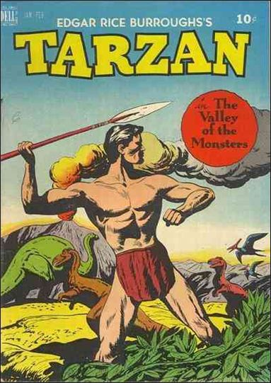 Tarzan (1948) 7-A by Dell