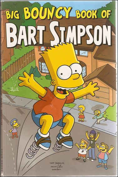 Big Bouncy Book of Bart Simpson 1-A by Bongo