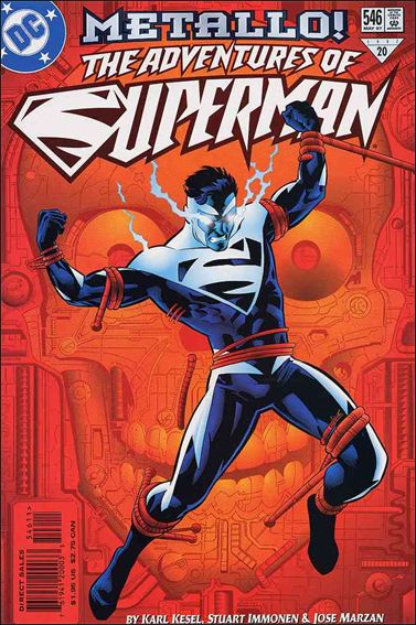 Adventures of Superman (1987) 546-A by DC