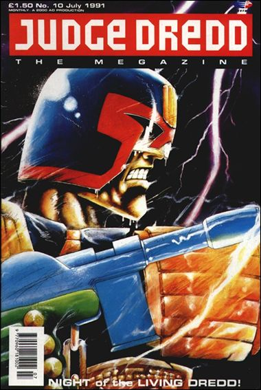 Judge Dredd Megazine (1990) 10-A by Fleetway