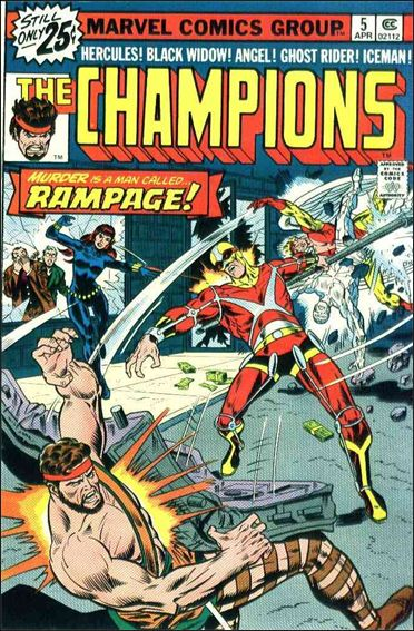Champions (1975) 5-A by Marvel