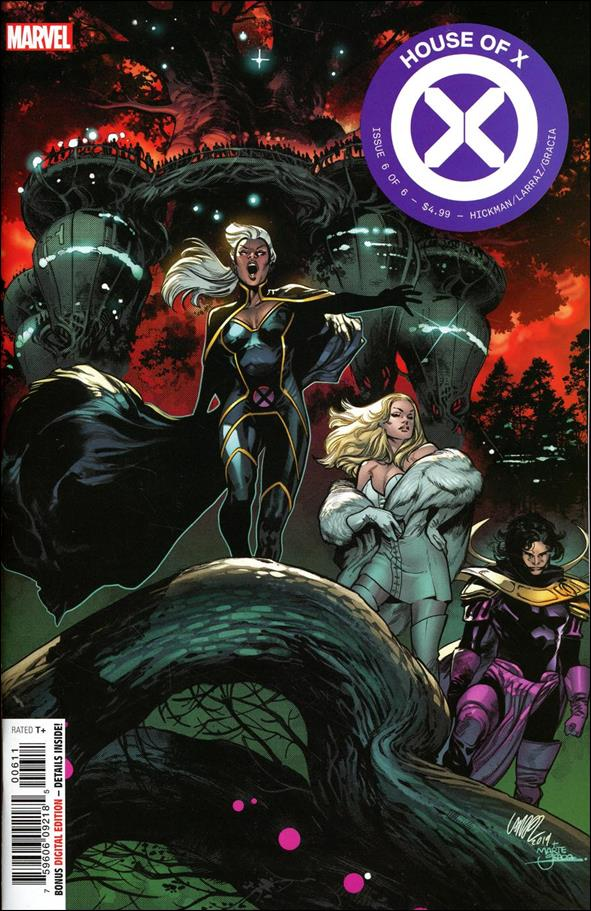 House of X 6-A by Marvel