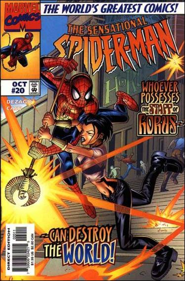 Sensational Spider-Man (1996) 20-A by Marvel
