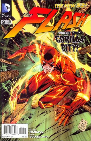 Flash (2011) 9-B by DC
