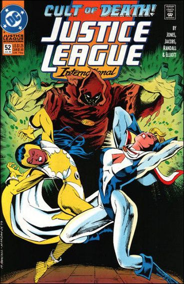 Justice League International (1993)  52-A by DC
