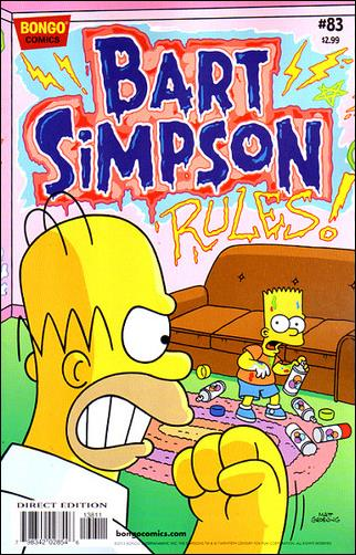 Simpsons Comics Presents Bart Simpson 83-A by Bongo