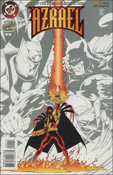 Azrael (1995) 1-A by DC