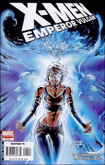 X-Men: Emperor Vulcan 4-A by Marvel