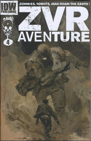 Zombies vs Robots Aventure 4-B by IDW