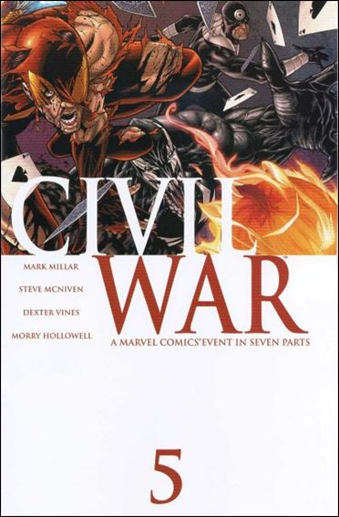 Civil War 5-A by Marvel