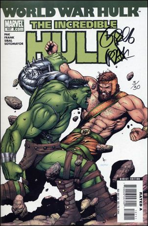 Incredible Hulk (2000)  107-C by Marvel