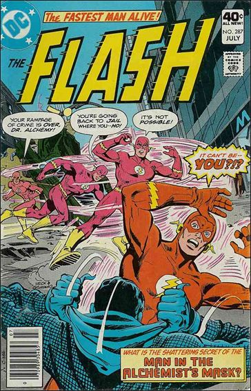 Flash (1959) 287-A by DC
