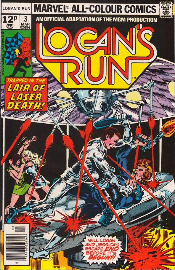 Logan's Run (1977) 3-B by Marvel