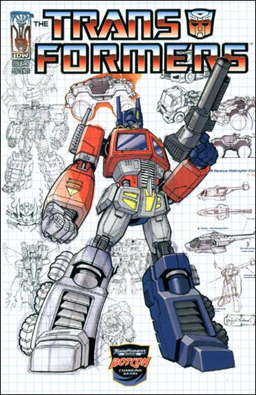 Transformers: Infiltration 0-F by IDW