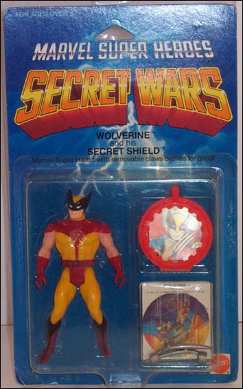 Marvel Super Heroes Secret Wars Wolverine w/ Silver Claws by Mattel