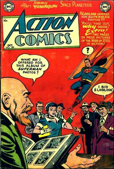 Action Comics (1938) 185-A by DC