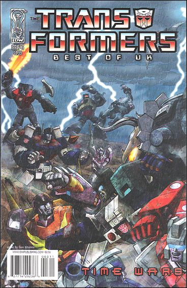 Transformers: Best of UK - Time Wars 3-A by IDW