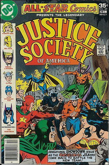 All Star Comics (1940) 69-A by DC