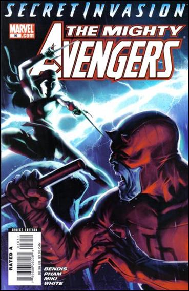 Mighty Avengers (2007) 16-A by Marvel
