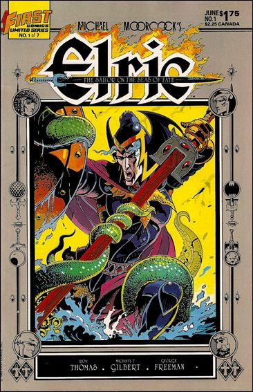 Elric: Sailor on the Seas of Fate 1-A by First