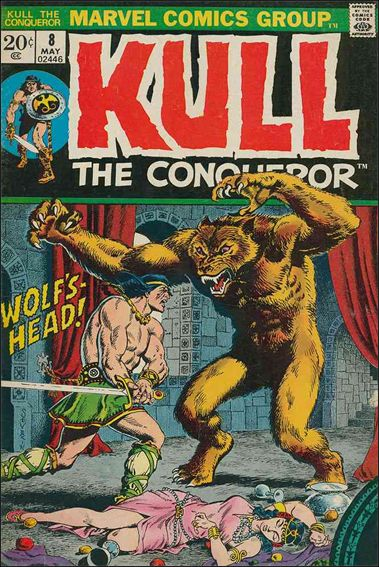 Kull the Conqueror (1971) 8-A by Marvel