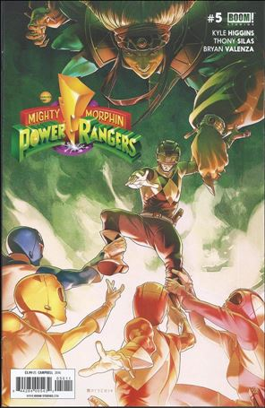 Mighty Morphin Power Rangers 5-A