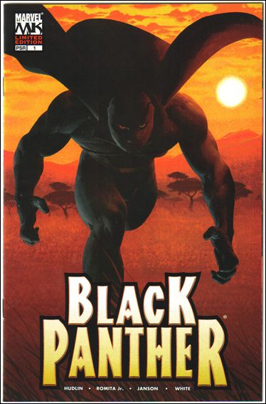 Black Panther (2005) 1-C by Marvel