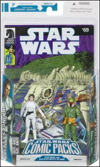 Star Wars: Legacy Collection Comic Packs (2008) Princess Leia & Tobbi Dala by Hasbro