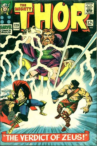 Thor (1966) 129-A by Marvel